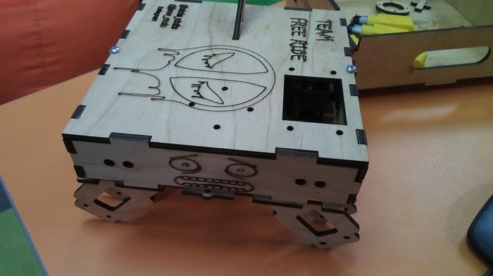 Робот на вайфай управлении Робот, Самоделки, Arduino, Гифка, Длиннопост