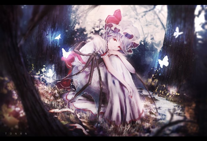 Remilia Scarlet Аниме, Anime Art, Touhou, Remilia Scarlet, Tonan