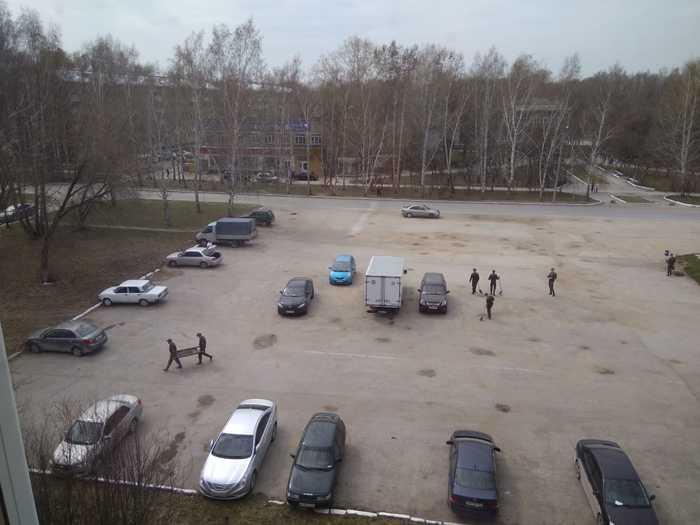Как военные в Новосибирске к параду готовятся Мусор, Новосибирск, Военные, Уборка, 9 мая, Приказы не обсуждаются, Пашино, Гвардейский поселок, Длиннопост