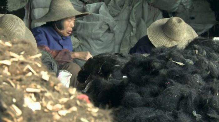Хлеб с добавкой из человеческих волос Еда, За хлебушком, Китай