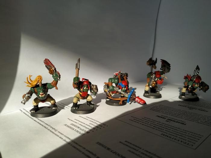 Покраска моего Waaaggghh. Warhammer 40k, Wh miniatures, Длиннопост