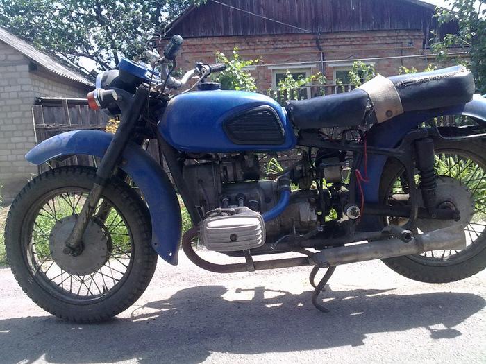 Реставрация мотоцикла Днепр МТ-10-36 1981 г.в Мото, Реставрация, Днепр, Drive2, Длиннопост