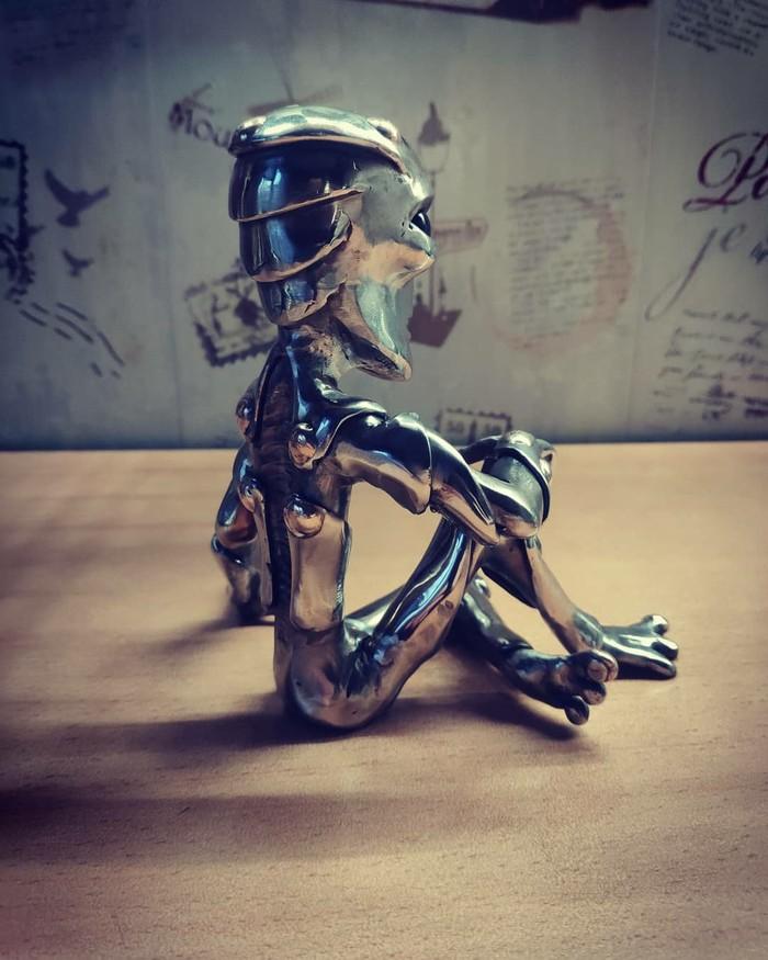 Инопланетяшка Инопланетяне, Длиннопост, Своими руками, Рукоделие без процесса, Сварка, Ручная работа