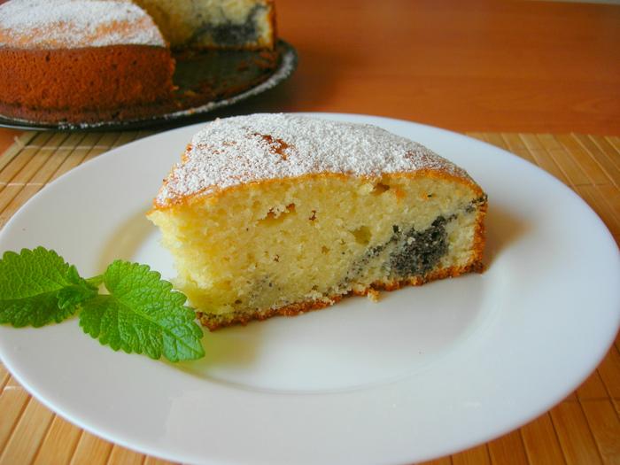 Пирог на кефире с маковой начинкой Пирог, Рецепт, Еда, Кулинария, Видео, Начинка для пирога, Маковый пирог, Длиннопост
