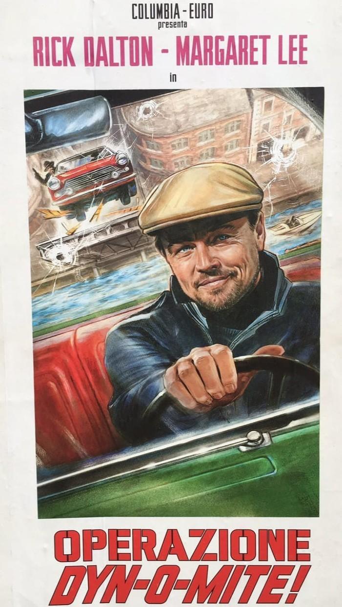 Новое промо 9-го фильма Квентина Тарантино «Однажды в Голливуде». Леонардо Ди Каприо, Однажды в Голливуде, Квентин Тарантино, Промо, 2019