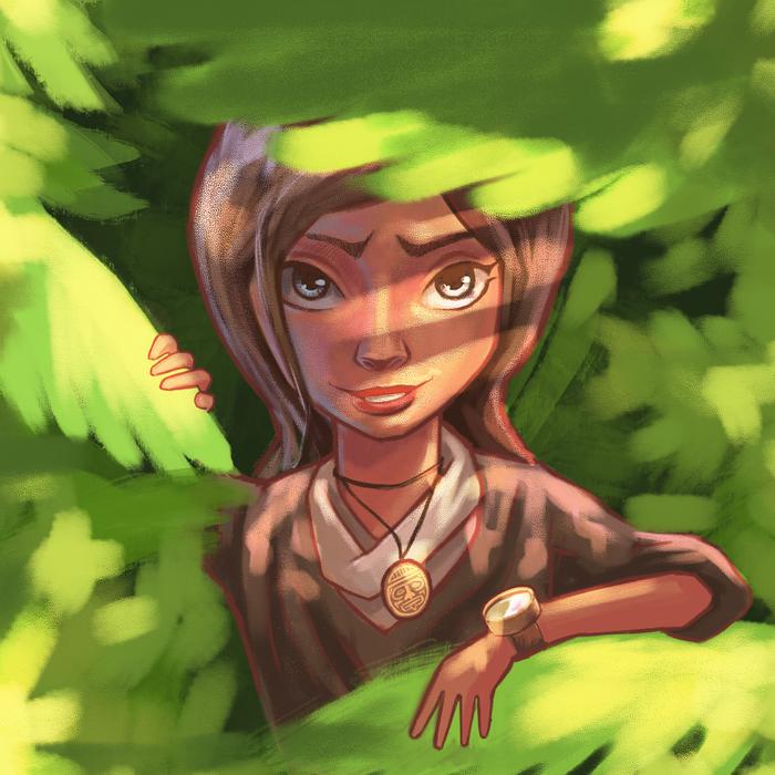 Лариса Компьютерная графика, Shadow of the Tomb Raider, Игры, Компьютерные игры, Девушки, Рисунок, Цифровой рисунок