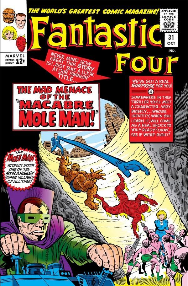 Погружаемся в комиксы: Fantastic Four #31-40 Супергерои, Marvel, Фантастическая четвёрка, Комиксы-Канон, Длиннопост