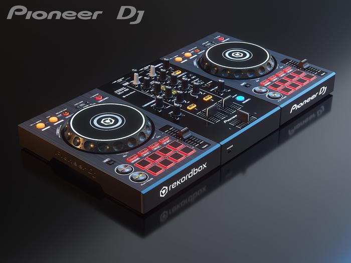 3D модельDDJ 400 3D модель, 3ds max, Рендер, Corona Renderer, Длиннопост