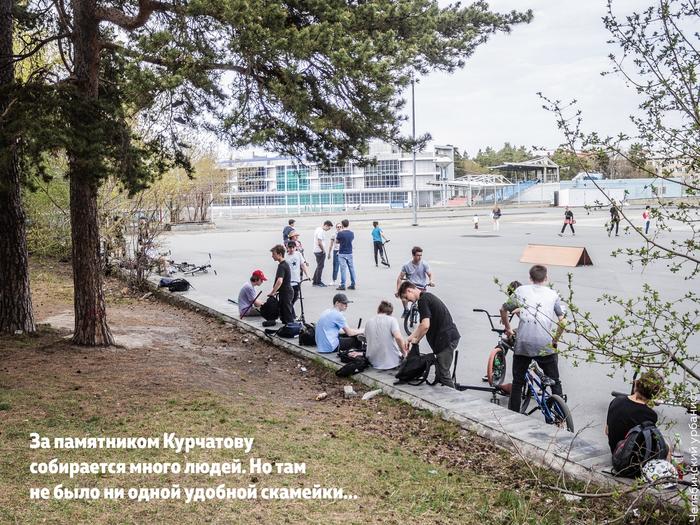Челябинец сделал бесплатно скамейки и установил их в парке Челябинск, Инициатива, Горожане, Скамейки, Длиннопост