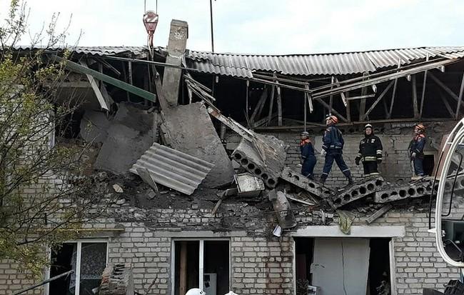 Семь квартир повреждены взрывом газа в Ростовской области Взрыв, Газ, Ростовская область, Негатив