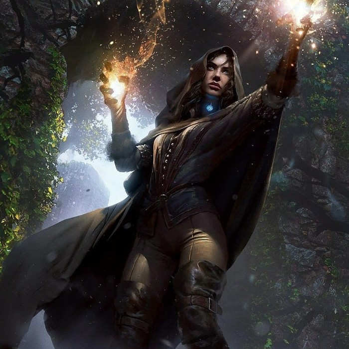 Ведьмак Ведьмак, Ведьмак 3, Длиннопост, Арт