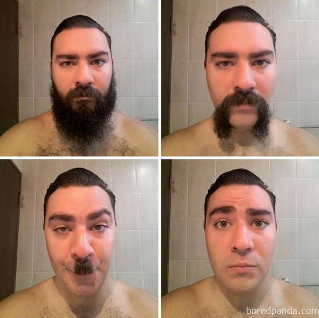 Мужчины До и После бритья: трудно поверить, но это одни и те же люди. Борода, Человек, Барбершоп, Мужчина, До и после, Длиннопост