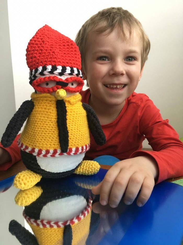 Пингвин Hugsy Вязание крючком, Вязание игрушек, Сериал друзья, Хагси, Длиннопост