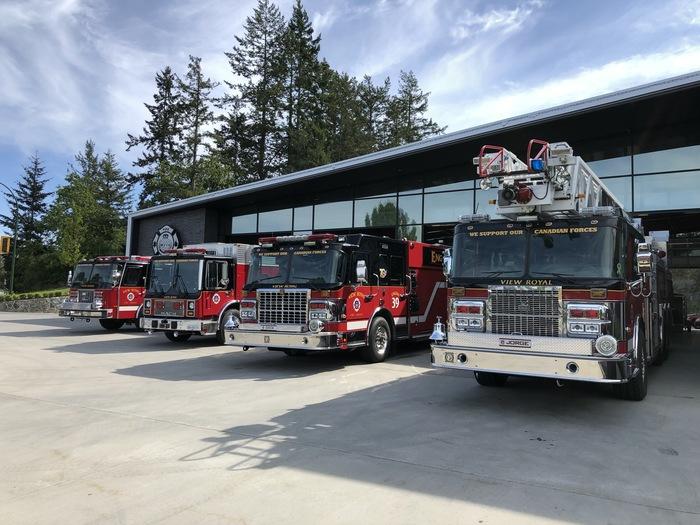 Пожарная станция Канада, Пожарные, Машина, Станция, Красота, Длиннопост