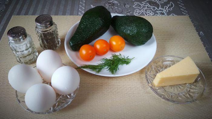 «Лодочки» из авокадо на завтрак Рецепт, Жуй-Ка!, Яйца, Авокадо, Завтрак, Длиннопост