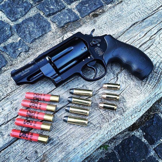 РевольверS&W Governor калибра 410/ 45 Colt/ 45 ACP Огнестрельное оружие, Револьвер, 410 калибр, Длиннопост