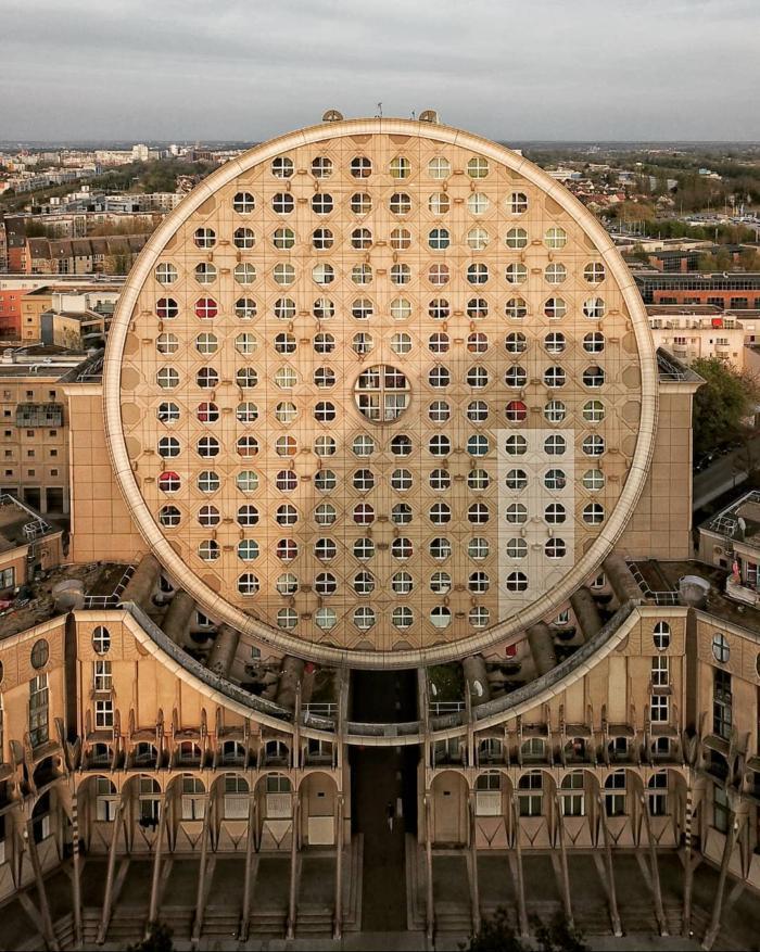 """Жилой комплекс """"Camembert"""" в парижском пригороде Noisy–le–Grand Архитектура, Париж, Жилые кварталы"""