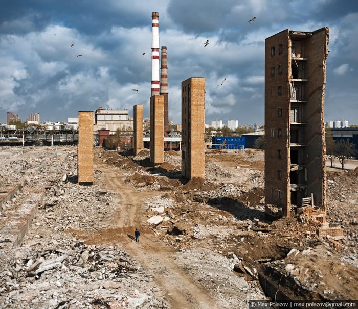 Остатки былой мощи Длиннопост, Фотография, Max Polazov, Москва, Заброшенное, Зил, Высота