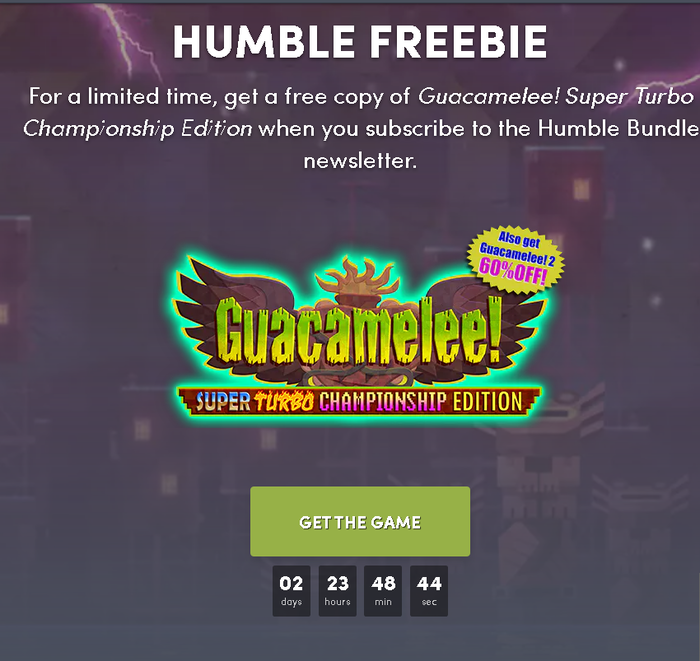 Guacamelee! Super Turbo Championship Edition Steam, Халява, Humble Bundle, Кк нет