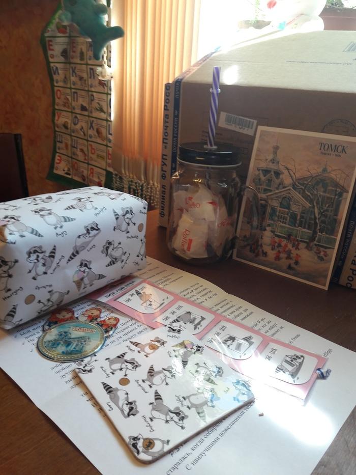 Цвет настроения ?(белый+енотики)) Обмен подарками, Цвет настроения белый, Проект, Длиннопост, Отчет по обмену подарками