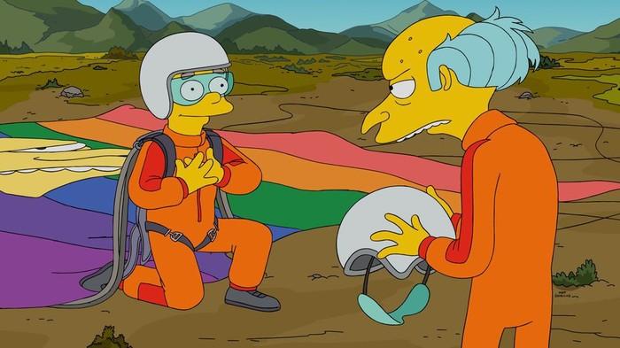 Симпсоны на каждый день [17_Мая] Симпсоны, Каждый день, Гомофобия, ЛГБТ, Гифка, Длиннопост, 17 мая