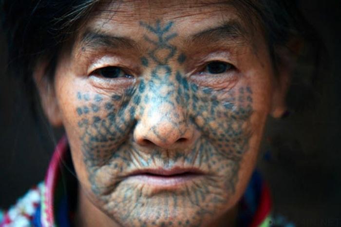 10 уникальных татуировок и методов их нанесения Культура, Искусство, Интересное, Татуирквки, История, Познавательно, Факты, Длиннопост