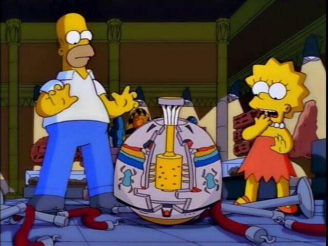 Симпсоны на каждый день [18_Мая] Симпсоны, Каждый день, Музей, Гифка, Длиннопост