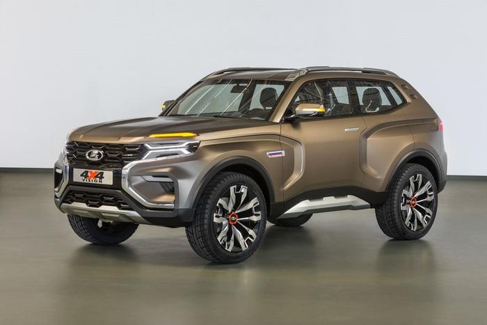 АвтоВАЗ запатентовал дизайн нового внедорожника