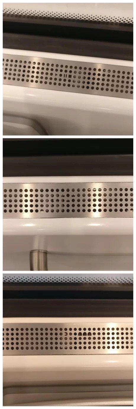 Узоры вентиляционных отверстий в новых поездах Швеции Поезд, Вентиляция, Узоры, Креатив, Длиннопост