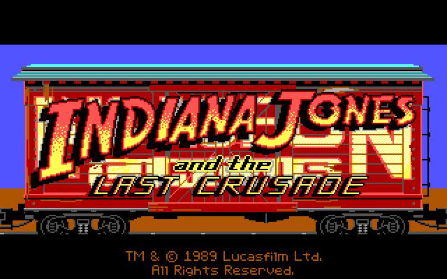 Indiana Jones and the Last Crusade: The Graphic Adventure.Часть 1. 1989, Прохождение, Индиана Джонс, Lucasfilm Games, Игры для DOS, Квест, Компьютерные игры, Ретро-Игры, Длиннопост