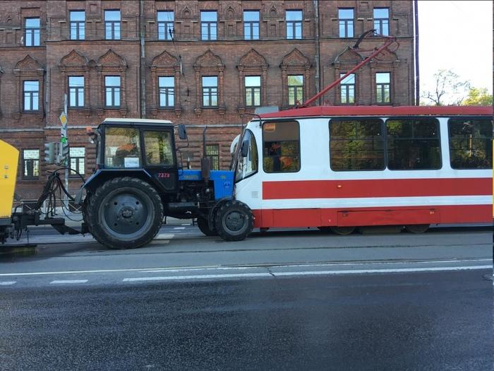 Картавое ДТП ДТП, Санкт-Петербург, Трамвай, Трактор, Логопед