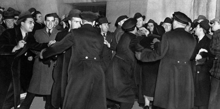 Еврейские гангстеры против американских нацистов. США, Евреи, Нацисты, Еврейская мафия, Борьба, 30-е, Длиннопост