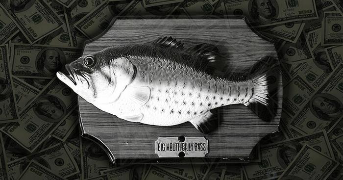 Как роботизированная поющая рыба принесла 100 миллионов долларов прибыли за год Познавательно, Интересное, Факты, Прикол, Игрушки, История изобретений, Поющая рыба, Длиннопост