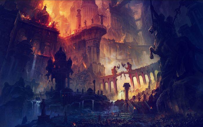 Город, которого нет. Финал Рассказ, История, Текст, Сказка, Фантазия, Город, Замок, Вымысел, Длиннопост