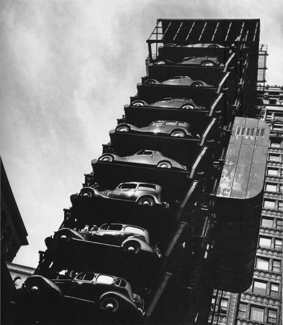 Вертикальные парковки. США, Авто, Вертикальная парковка, Длиннопост