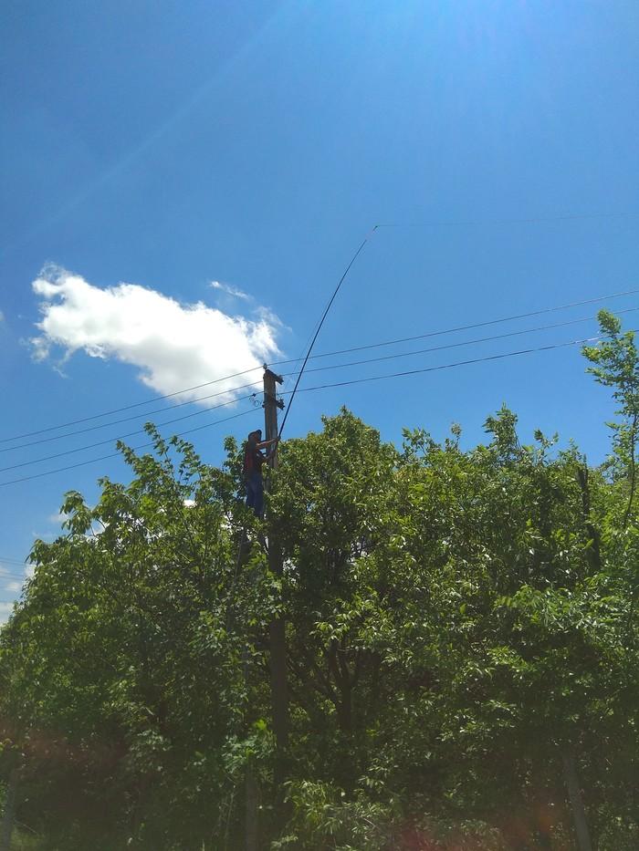 Оптическая рыбалка :) Оптоволокновые сети, Монтаж, Удочка