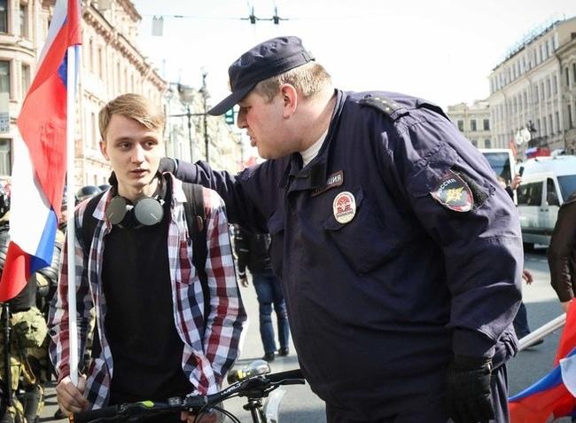 Велопарад в Питере Санкт-Петербург, Велосипед, Велопарад, Весна