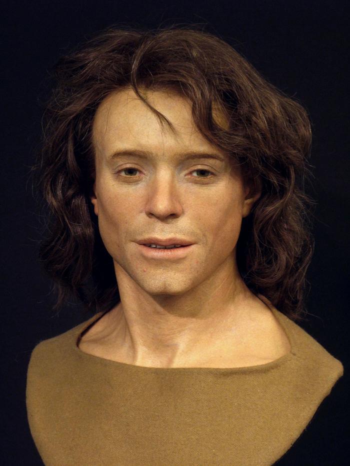 Как выглядел человек, живший 1300 лет назад: реконструкция лица. История, Реконструкция лица, The National Geographic, Швейцария, Длиннопост, Археология