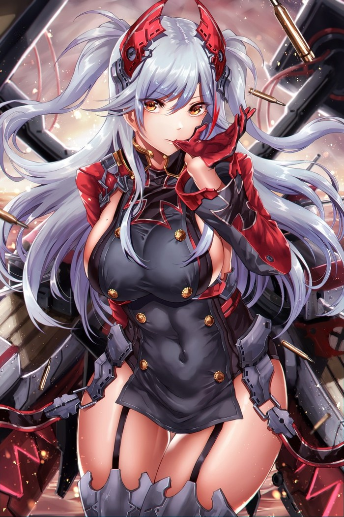 Anime Art Аниме, Anime Art, Azur Lane, Prinz Eugen