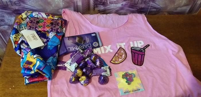 Цвет настроения- фиолетовый) Обмен подарками, Подарок, Длиннопост, Отчет по обмену подарками