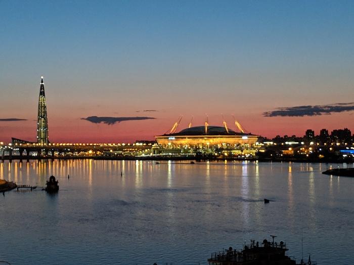 Контрасты... Санкт-Петербург, Ночное освещение
