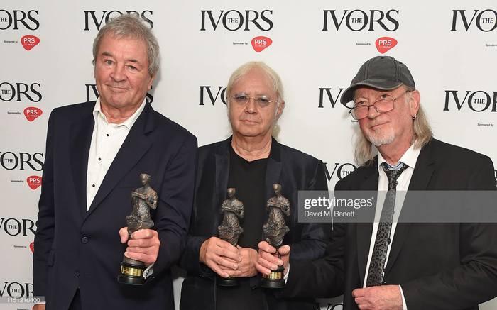 Deep Purple Mk II Рок, Deep Purple, Ian Gillan, Ian Paice, Roger Glover, Ivors, Длиннопост