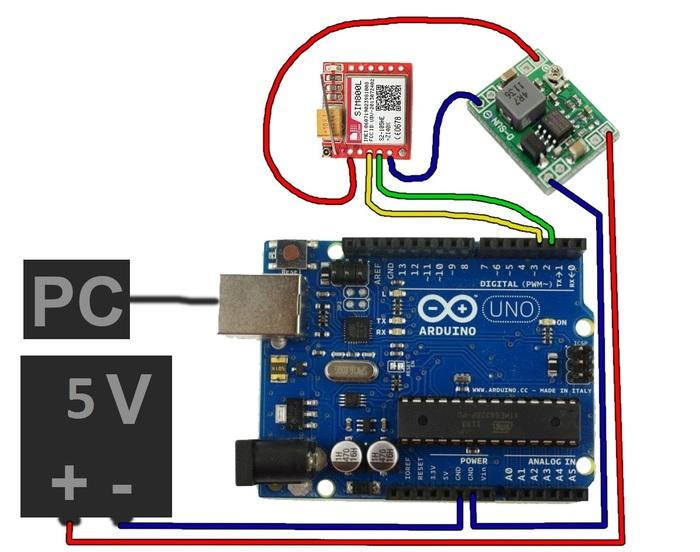 Питание и работа модуля SIM800L Arduino, Arduino Mega, Arduino sim800l, Программирование, Электричество