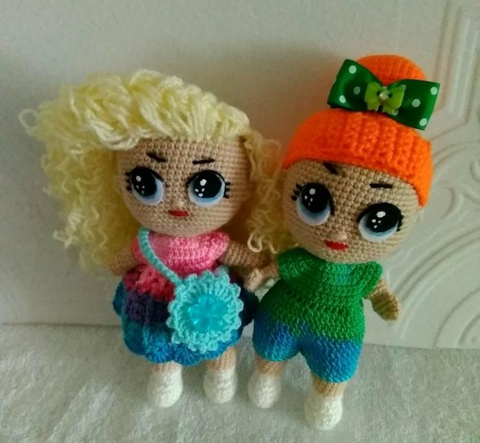 Мои первые Лолочки ! Вязание крючком, Вязаные игрушки, Детские игрушки, Длиннопост