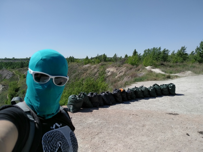 Вытащил 1500 литров мусора из карьера. Чистомэн Чистомен, Копейск, Мусор, Видео