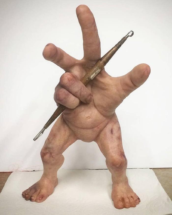 Рукожопы Рукожоп, Скульптура, Длиннопост, Крипота