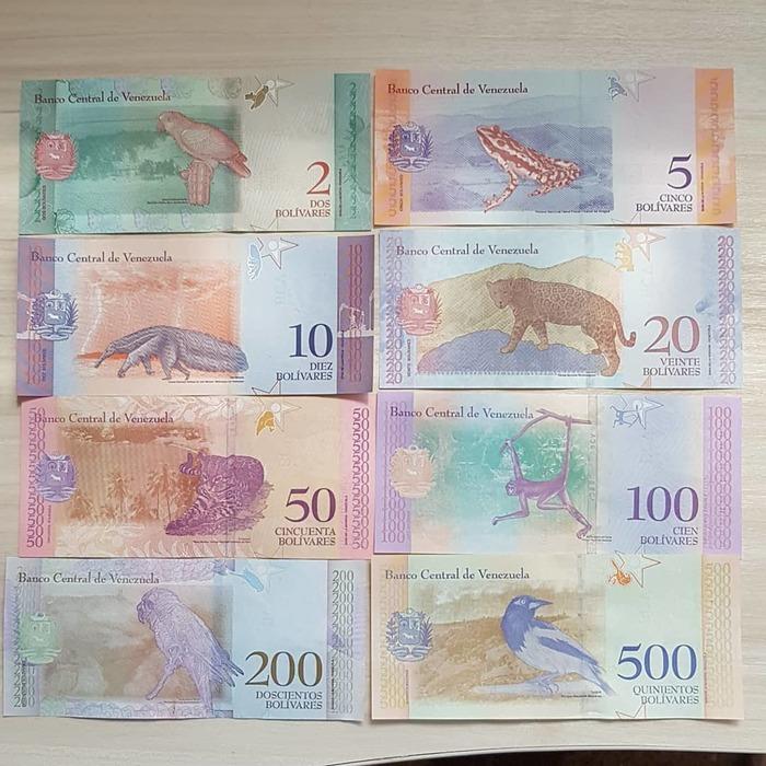 Венесуэльские деньги Банкноты, Деньги, Боливар, Венесуэла, Длиннопост