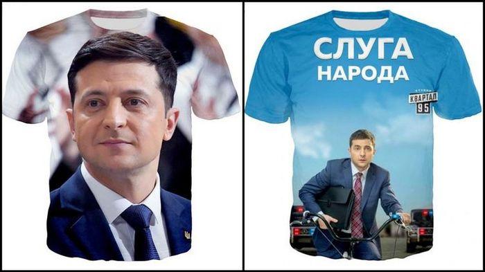 Китайцы начали продавать Зеленского на футболках, чашках и чехлах Владимир Зеленский, Президент, Украина, Длиннопост