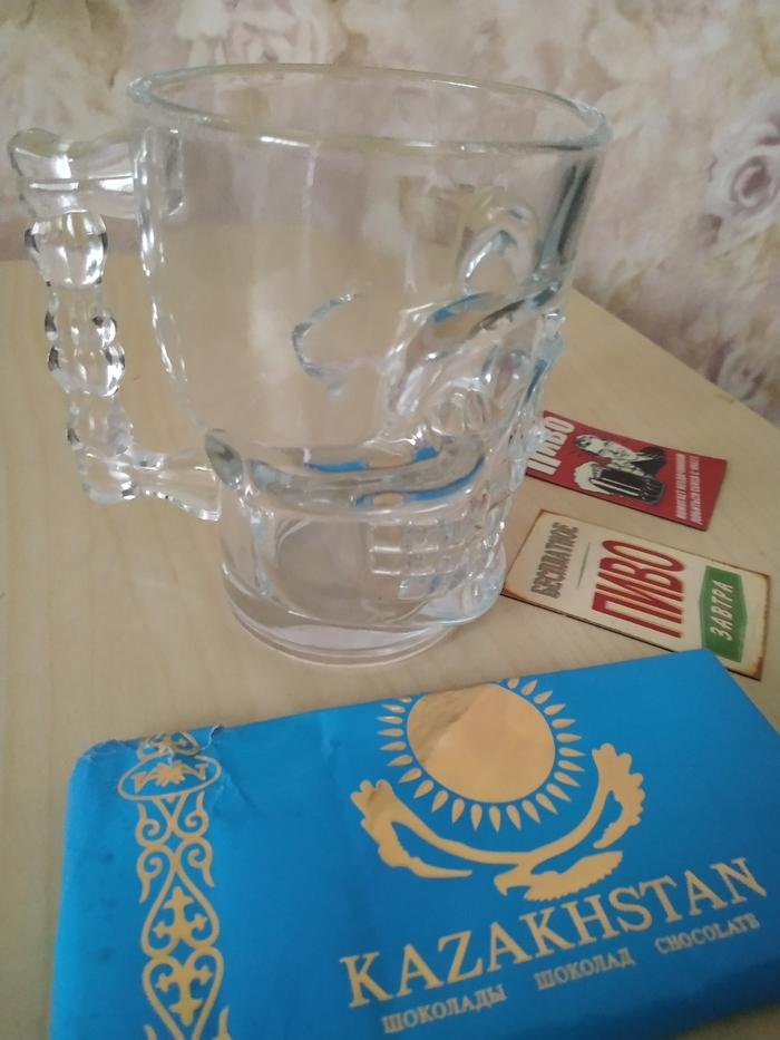 Кружкообмен Атырау (Казахстан) - Курган Кружкообмен, Обмен подарками, Пивная кружка, Длиннопост