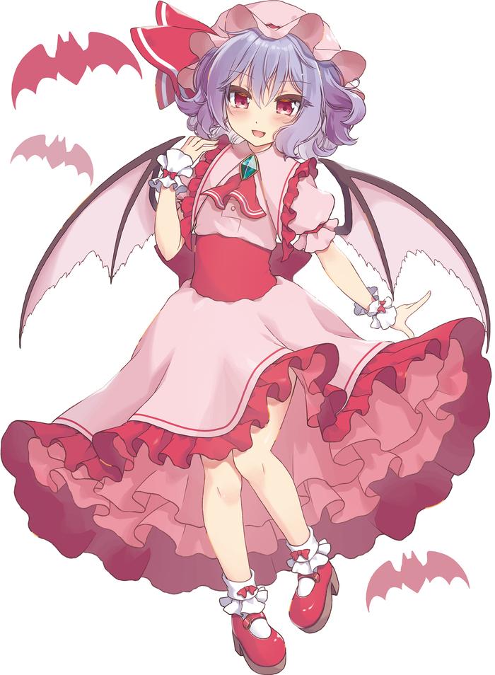 Remilia Scarlet Touhou, Remilia Scarlet, Anime Art, Аниме, Не аниме, Beni kurage